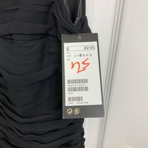 NWT H&M black dress